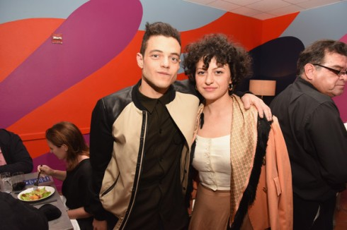 Alia Shawkat and Rami Malek