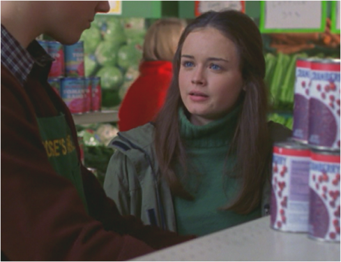 Gilmore Girls 1.09 Rory green sweater