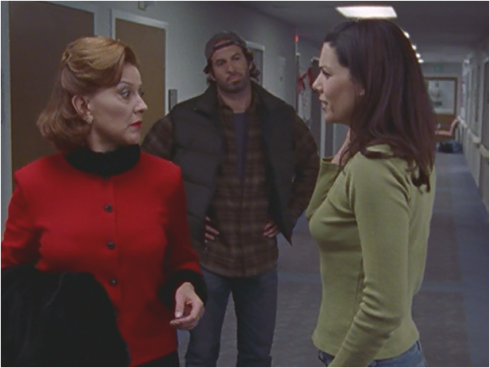 Gilmore Girls 1.10 Lorelai, Luke and Emily
