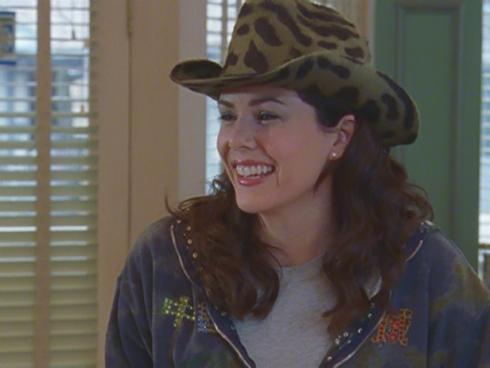 Gilmore Girls 1.13 more Lorelai bad fashion