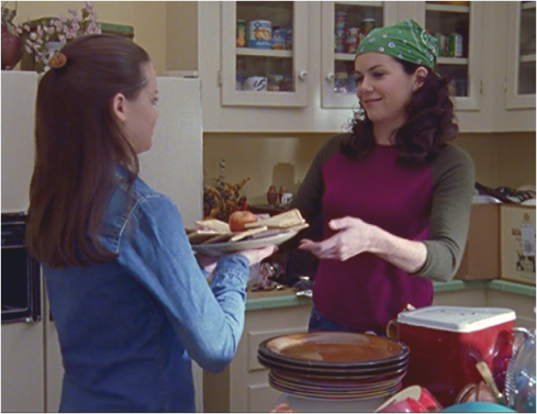 Gilmore Girls 1.13 Pop Tart Platter
