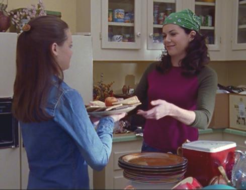 Gilmore Girls 1.13 Pop Tart Platter