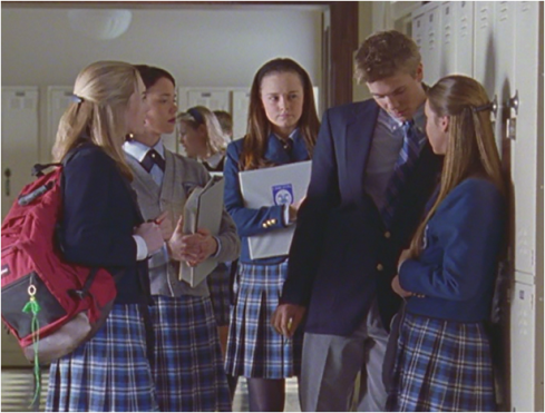 Gilmore Girls 1.13 school