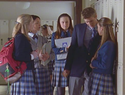 Gilmore Girls 1.13 school