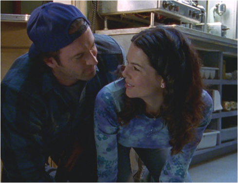 Gilmore Girls 1.14 Luke and Lorelai