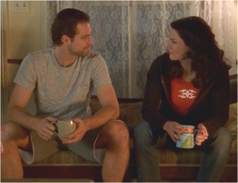 Gilmore Girls 1.15 Christopher and Lorelai