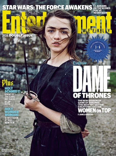 Maisie Williams EW