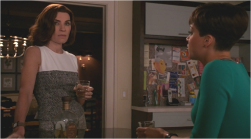 The Good Wife 7.17 Lucca and Alicia