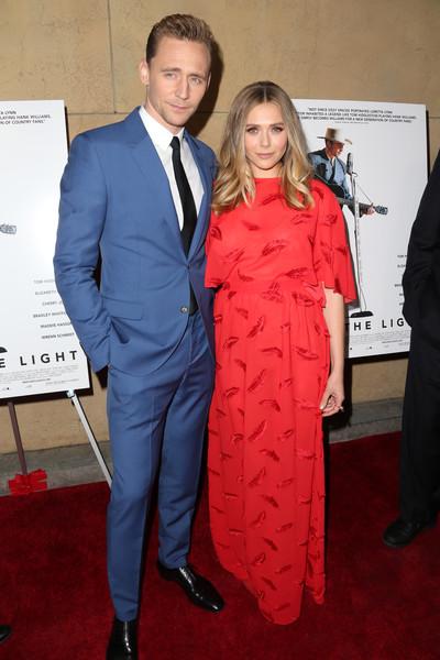 Tom Hiddleston and Elizabeth Olson