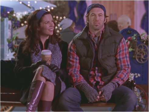 Gilmore Girls 1.16 Luke and Lorelai
