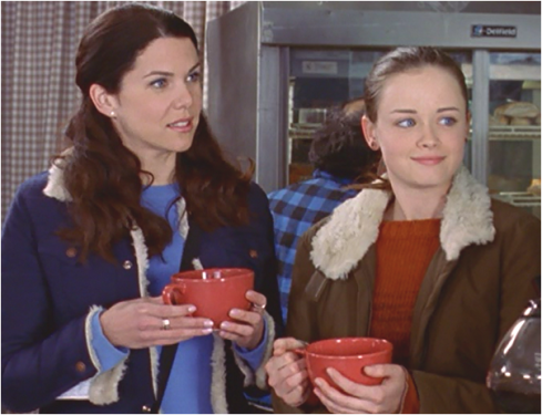 Gilmore Girls 1.17 Lorelai and rory
