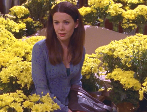 Gilmore Girls 1.21 flowers