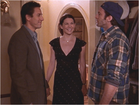 Gilmore Girls 1.21 Max, Lorelai and Luke