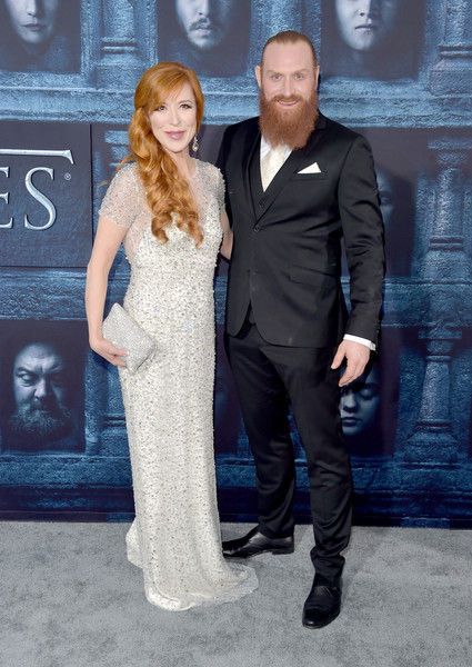 Kristofer Hivju and Gry Molvaer