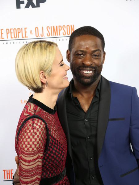 Sarah Paulson and Sterling K Brown