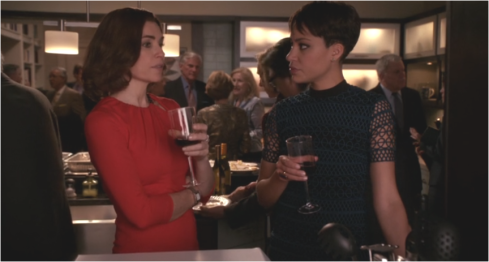 The Good Wife 7.20 Alicia and Lucca