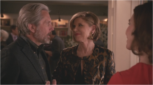 The Good Wife 7.20 Diane and Kurt