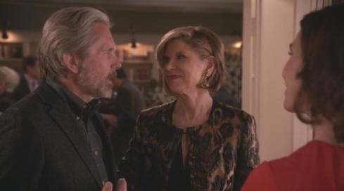The Good Wife 7.20 Diane and Kurt