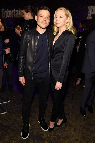 Rami Malek and Portia Doublday