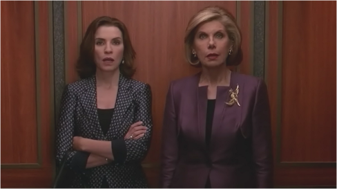 The Good Wife 7.21 Alicia and Diane