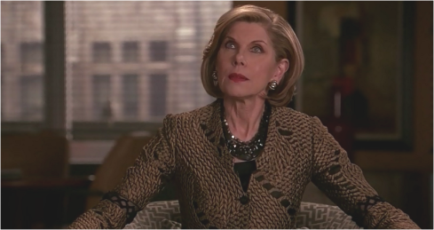 The Good Wife 7.21 Diane Lockhart