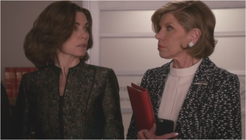 The Good Wife 7.22 Alicia and Diane