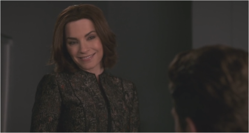 The Good Wife 7.22 Alicia demure