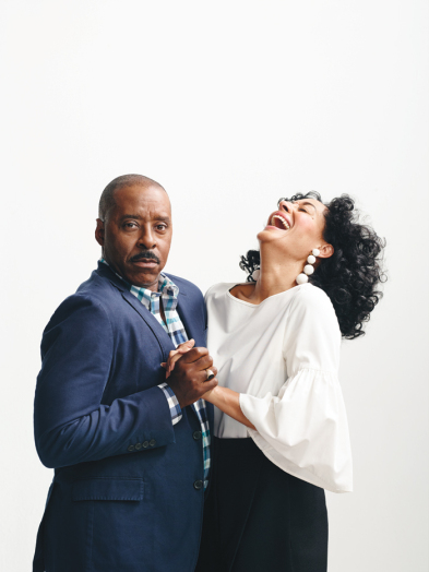 Courtney B. Vance and Tracee Ellis Ross