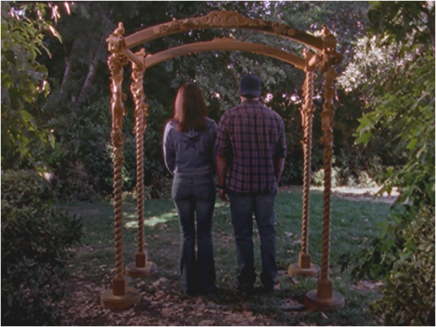 Gilmore Girls 2.03 Lorelai and Luke