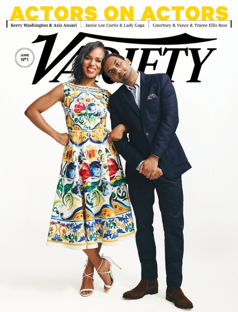 Kerry Washington, Aziz Ansari