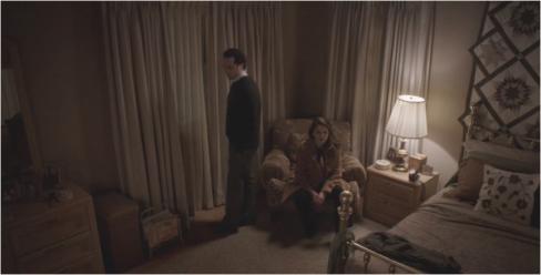 The Americans 4.13 Philip and Elizabeth bedroom