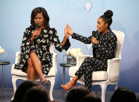 yara-shahidi-and-michelle-obama