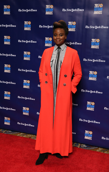 5e6474f6dcdd Mudbound director Dee Rees continues to give great coats and she is also  wearing the color that is dominating this week s column. I plan on finally  watching ...